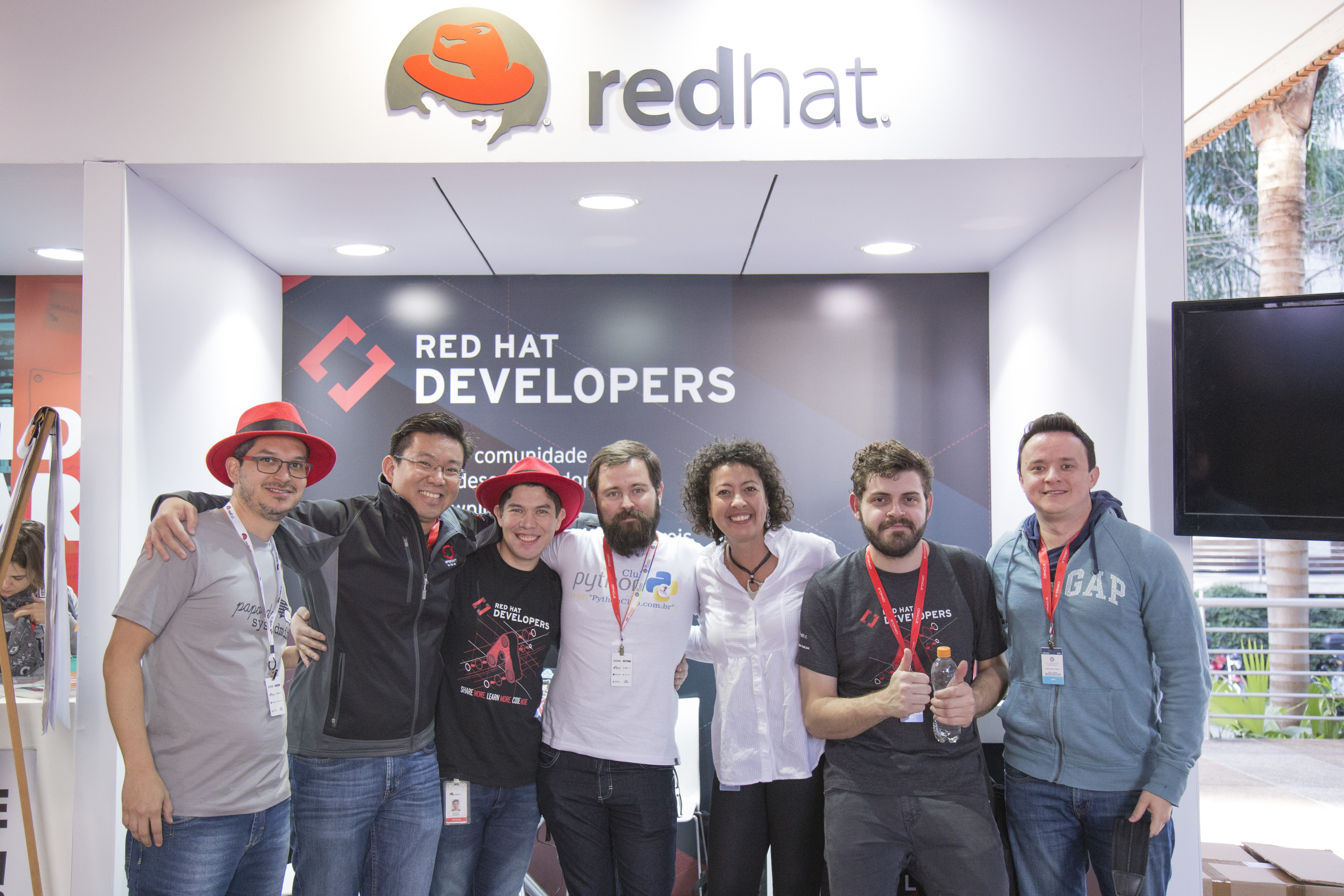 Equipe do Red Hat Developers